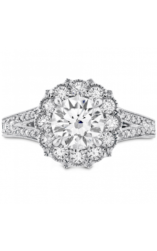 Liliana Halo Engagement Ring - Dia Band product image