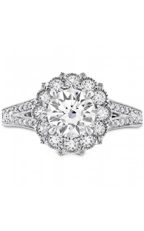 Liliana Halo Engagement Ring - Dia Band product image