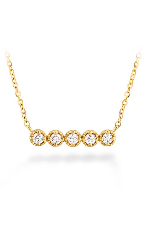Liliana Milgrain Diamond Bar Necklace product image
