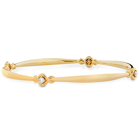 Optima Four Station Diamond Bangle product image