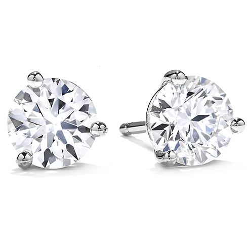 Three-Prong Stud Earrings product image