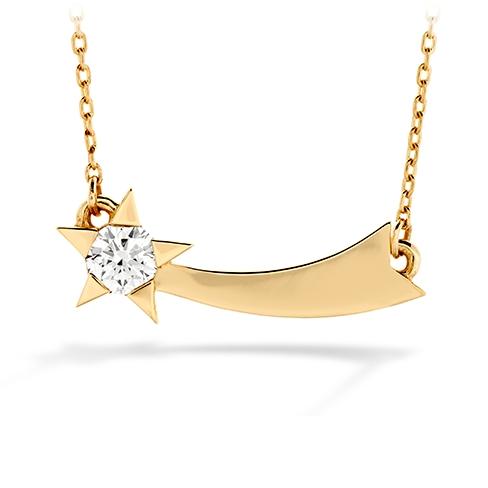 Illa Single Diamond Comet Necklace product image
