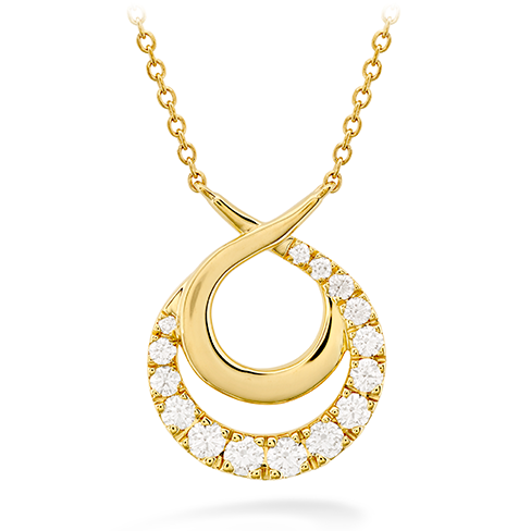 Optima Double Circle Necklace product image