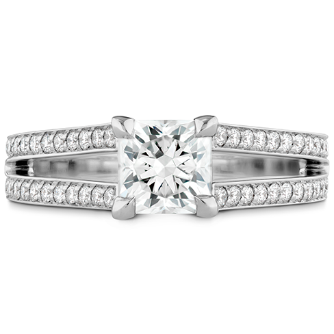 Adoration Dream Double Row Engagement Ring product image
