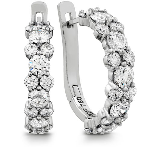Gracious Diamond Hoop Earrings product image