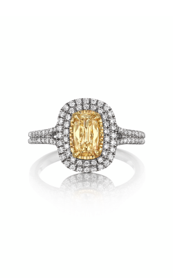 Henri Daussi Daussi Cushion Engagement Ring ADTY product image