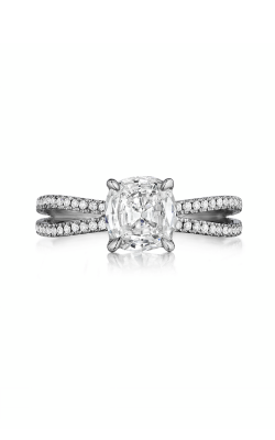 Henri Daussi Daussi Cushion Engagement Ring AOS product image