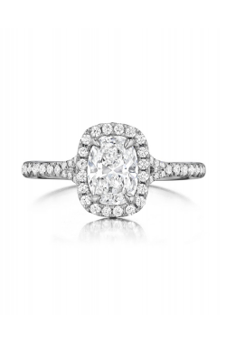 Henri Daussi Daussi Cushion Engagement Ring ASP product image