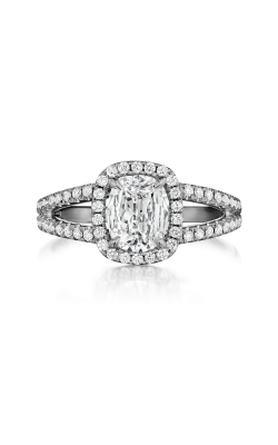 Henri Daussi Daussi Cushion Engagement Ring ASWS product image