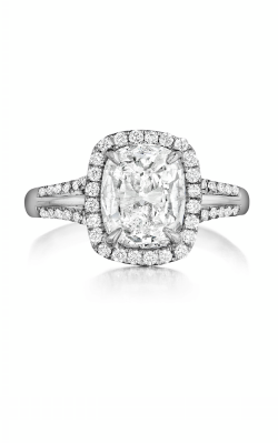 Henri Daussi Daussi Cushion Engagement Ring ATW product image