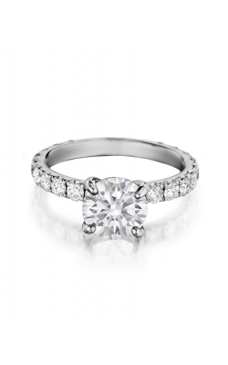 Henri Daussi Engagement Collection Engagement Ring H06 product image