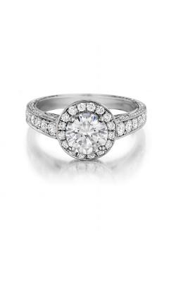 Henri Daussi Engagement Ring H18 product image