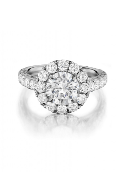 Henri Daussi Engagement Ring H19 product image