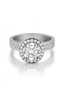 Henri Daussi Engagement Ring H16 product image