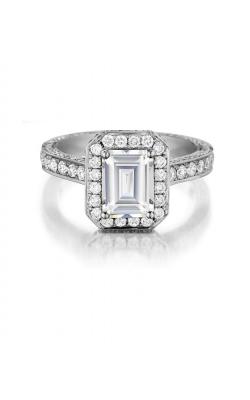 Henri Daussi Engagement Ring H25 product image