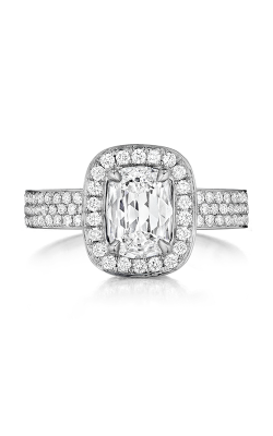 Henri Daussi Daussi Cushion Engagement Ring ADHS product image