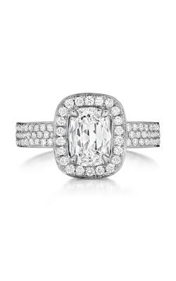 Henri Daussi Daussi Cushion Engagement Ring ADHS product image