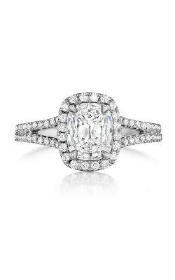 Henri Daussi Daussi Cushion Engagement Ring AMJL product image