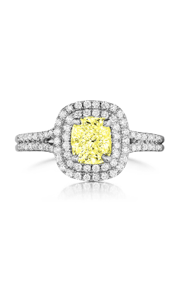 Henri Daussi Daussi Fancy Colors Engagement ring ADTY product image
