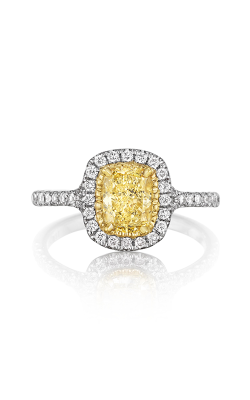 Henri Daussi Daussi Fancy Colors Engagement ring ASPY product image