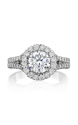 Henri Daussi Daussi Brilliant Engagement Ring BKS product image