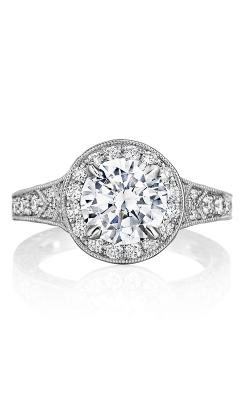 Henri Daussi Brilliant Engagement Ring BZP product image