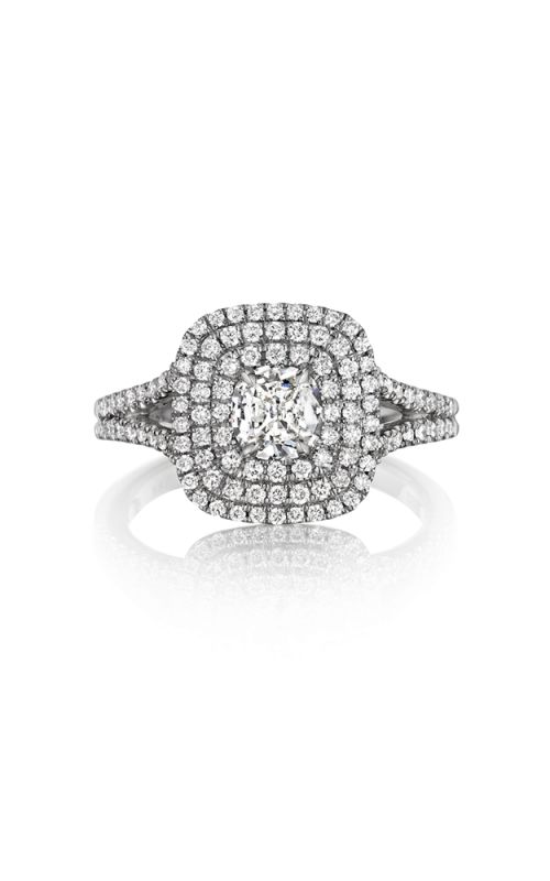 Henri Daussi Daussi Cushion Engagement ring ADT product image