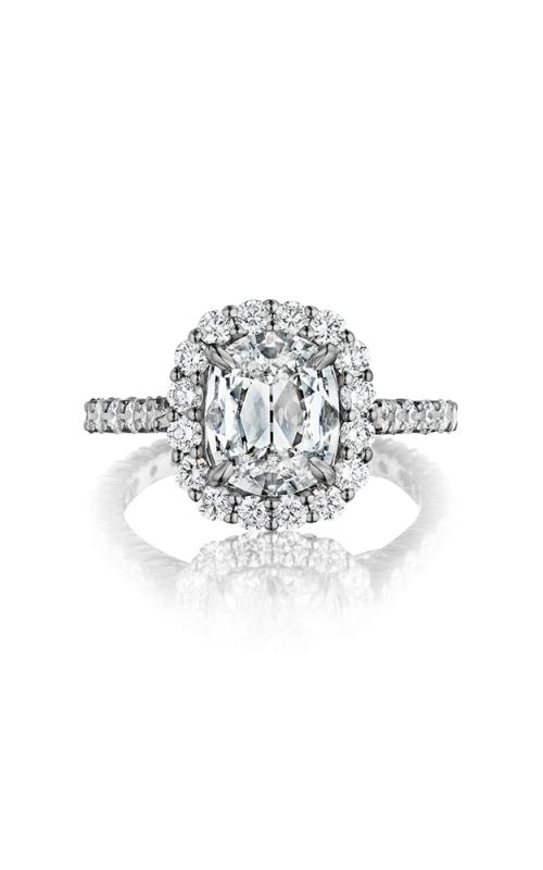 Henri Daussi Daussi Cushion Engagement ring ANV product image
