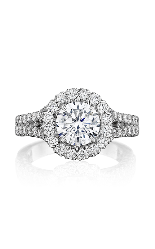 Henri Daussi Daussi Brilliant Engagement ring VKS product image