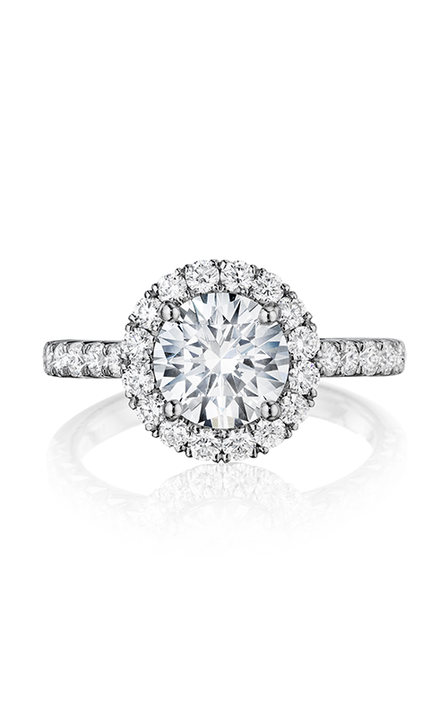 Henri Daussi Daussi Brilliant Engagement ring DMDM product image