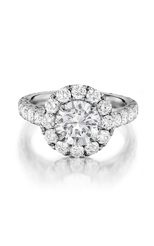 Henri Daussi Daussi Brilliant Engagement ring DWSB product image
