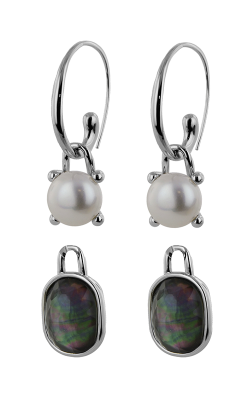 Honora Madison Mother Of Pearl Earrings LE5731WHBM product image