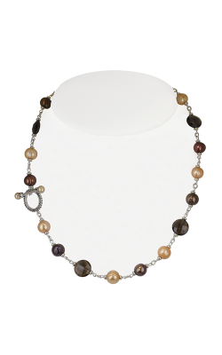 Honora Skinny Jeans Chocolate Necklace LN5588CH18 product image