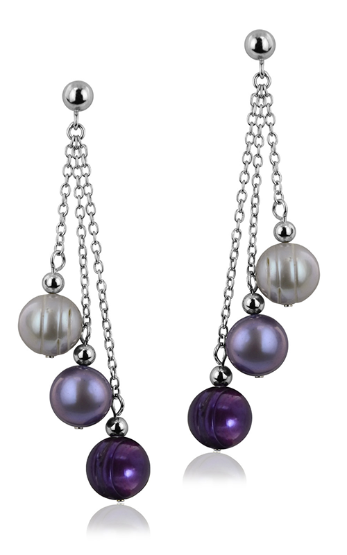 Honora Plum Crazy Earrings LE4414PZY product image