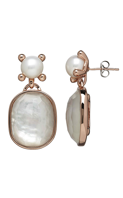 Honora Madison Bronze Mother of Pearl Earrings LE7093WHWM product image