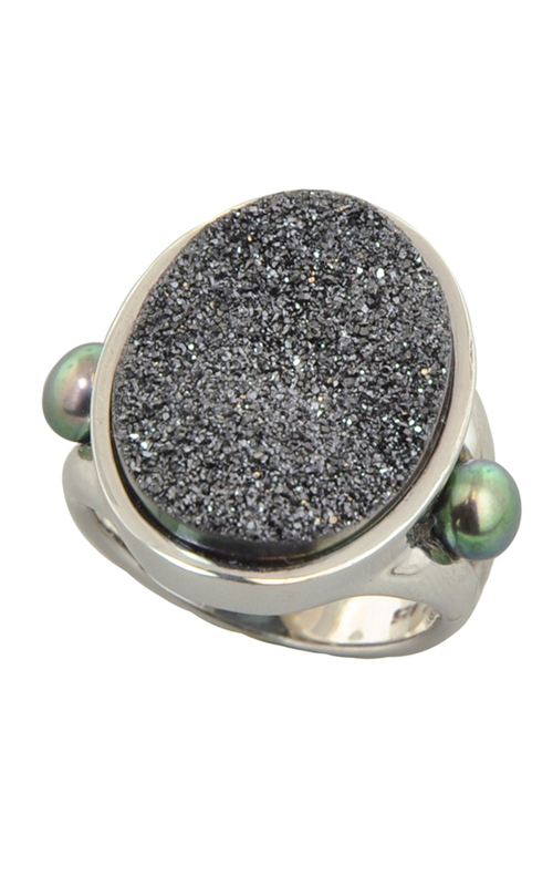 Honora Rock Star Black Ring LR5638BL7 product image
