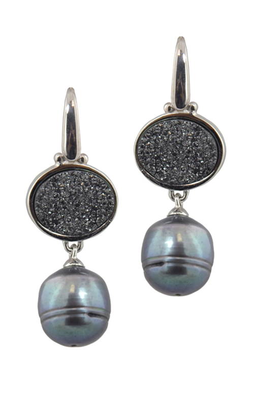 Honora Rock Star Black Earrings LE5638BL product image