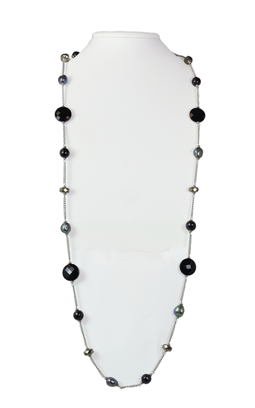 Honora Skinny Jeans Black Necklace LN5588BL36 product image