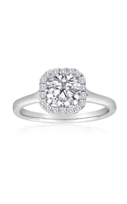 Imagine Bridal Engagement Rings - 18k White Gold 0.20ctw Diamond Engagement Ring, 62226DP-S-1 5 product image