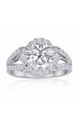 Imagine Bridal Engagement Rings - 14k White Gold 0.75ctw Diamond Engagement Ring, 62006D-3 4 product image