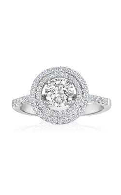 Imagine Bridal Engagement Rings - 18k White Gold 0.27ctw Diamond Engagement Ring, 61686D-1 3 product image