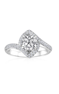Imagine Bridal Engagement Rings - 18k White Gold 0.29ctw Diamond Engagement Ring, 61846D-1 3 product image