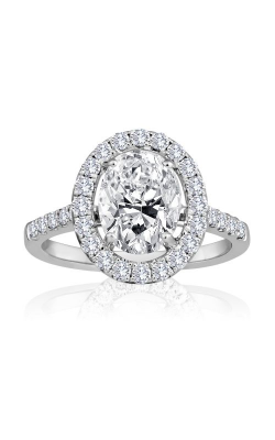 Imagine Bridal Engagement Rings - 18k White Gold 0.50ctw Diamond Engagement Ring, 62156D-1 4 product image