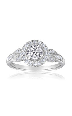 Imagine Bridal Engagement Rings - 18k White Gold 0.28ctw Diamond Engagement Ring, 62336D-1 3 product image