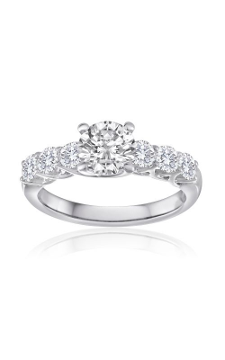 Imagine Bridal Engagement Rings - 18k White Gold 0.80ctw Diamond Engagement Ring, 68076D-1 product image