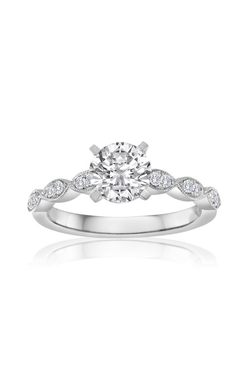 Imagine Bridal Engagement Rings - 18k white gold 0.15ctw Diamond Engagement Ring, 64126D-1 6 product image