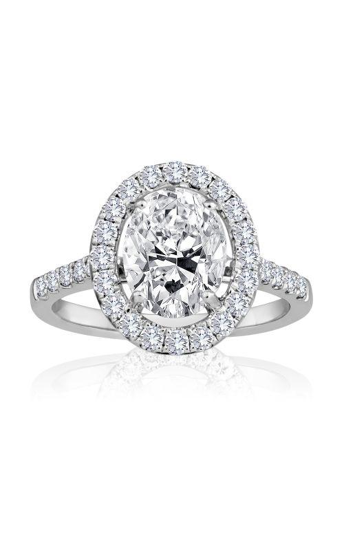 Imagine Bridal Engagement Rings - 18k white gold 0.50ctw Diamond Engagement Ring, 62156D-1 4 product image