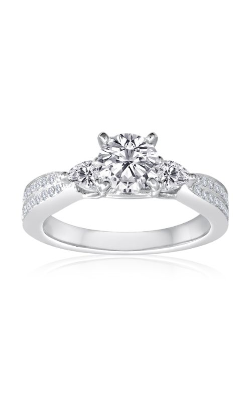 Imagine Bridal Engagement Rings - 18k white gold 0.42ctw Diamond Engagement Ring, 62996D-2 5 product image
