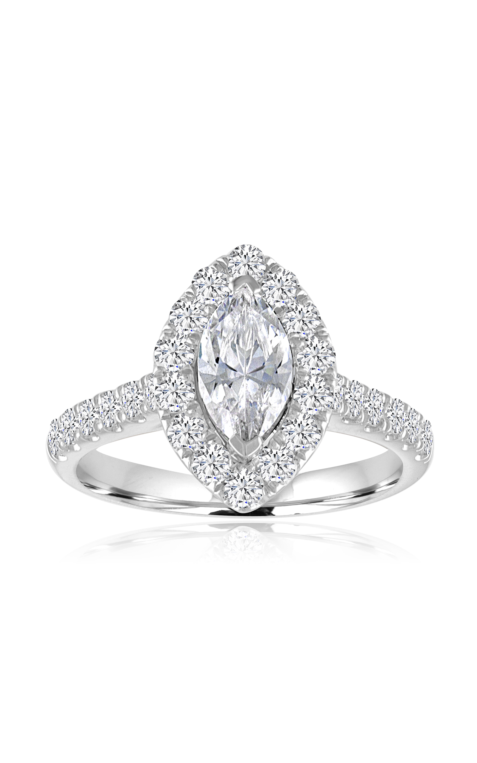 Imagine Bridal Engagement Rings 60266D-4 5 product image