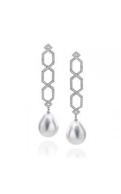 Ivanka Trump Black and White Earrings E0291 product image